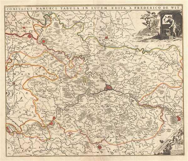 Comitatus Namurci Tabula in Lucem.