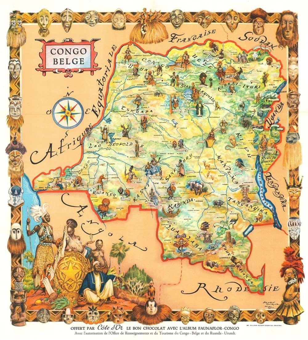Congo Belge. - Main View