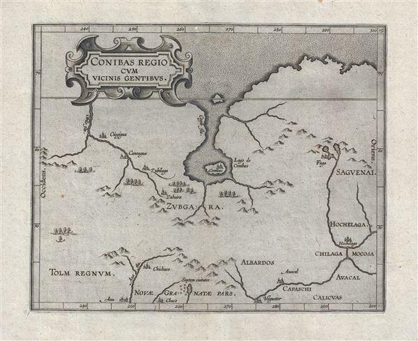 Conibas Regio Cum Vicins Gentibus.