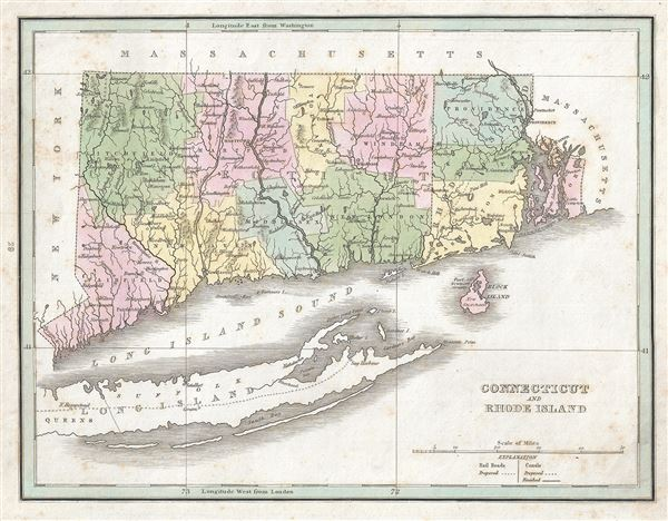 Connecticut and Rhode Island. - Main View