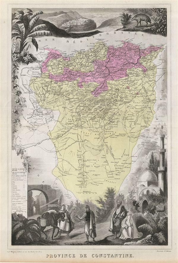 Province de Constantine.