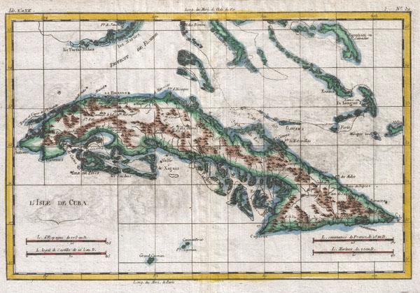 L'Isle de Cuba.