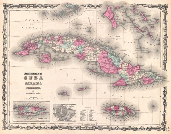 Johnson's Cuba, Jamaica and Porto Rico.