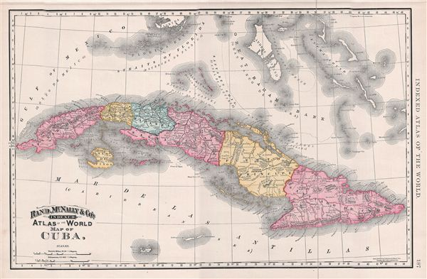 Map Of Cuba Geographicus Rare Antique Maps - Vintage map of cuba