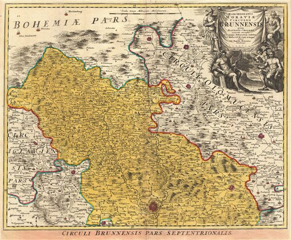 Marchionatus Moraviae Circulus Brunnensis quem Mandato Caesareo.