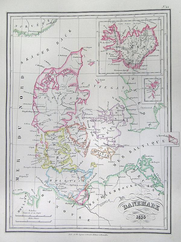 Danemark 1833.
