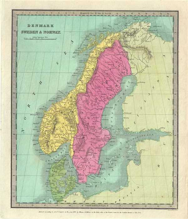Denmark Sweden and Norway.