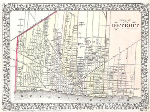 Plan of Detroit