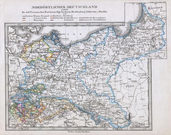 Nordostliches Deutschland.