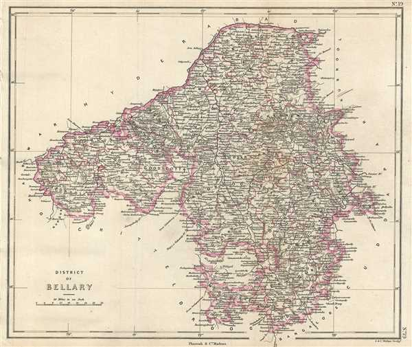 District of Bellary.