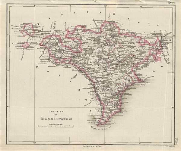 District of Masulipatam.