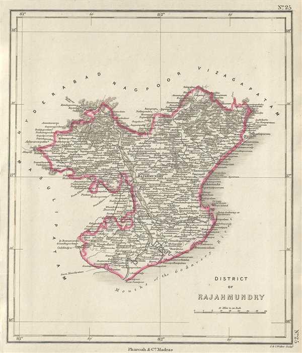 District of Rajahmundry.