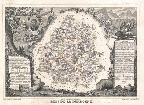 Dept. de la Dordogne. - Main View