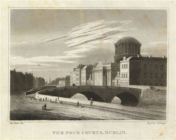 The Four Courts, Dublin. - Main View