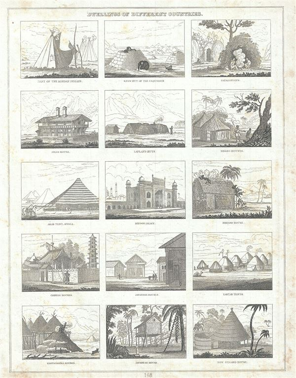 Dwellings of Different Countries. - Main View