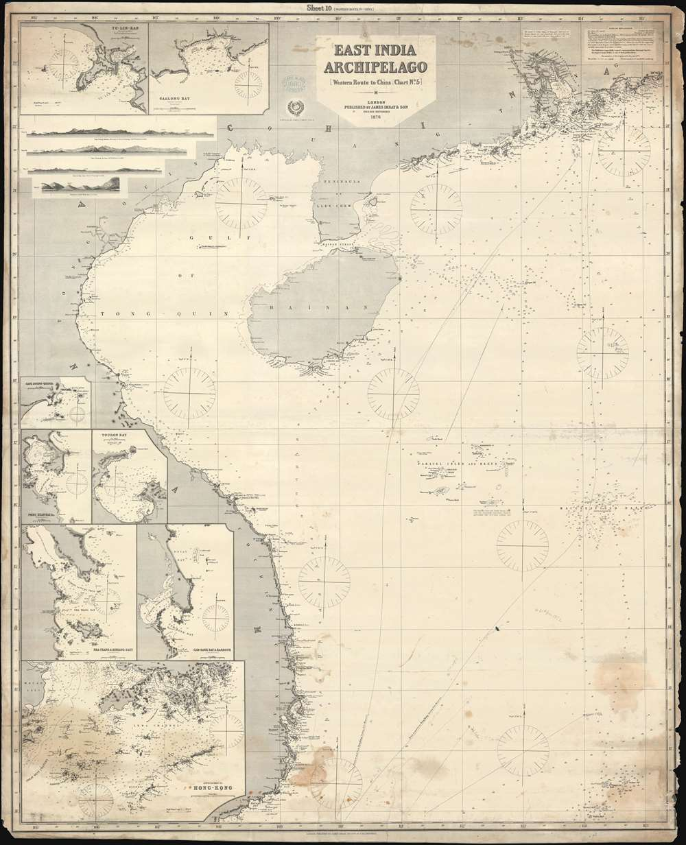 East India Archipelago. [Western Route to China. Chart No. 5.] - Main View