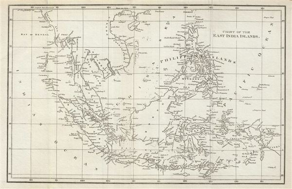 Chart of the East India Islands. - Main View