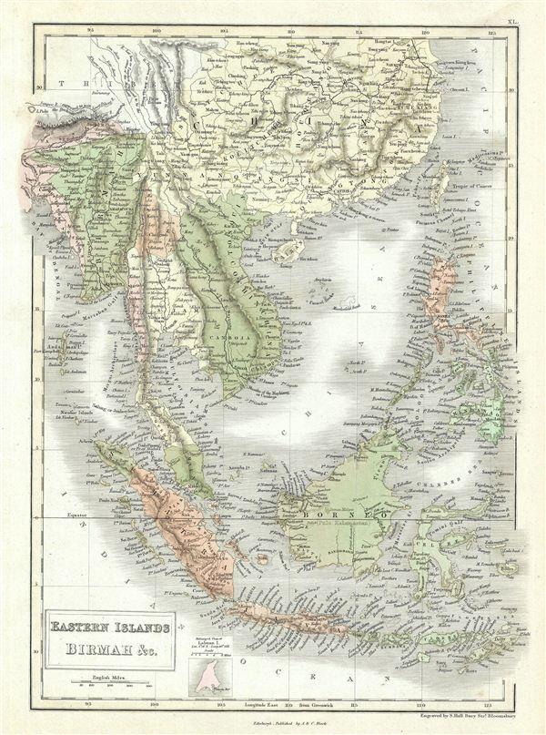 Eastern Islands Birmah &c. - Main View