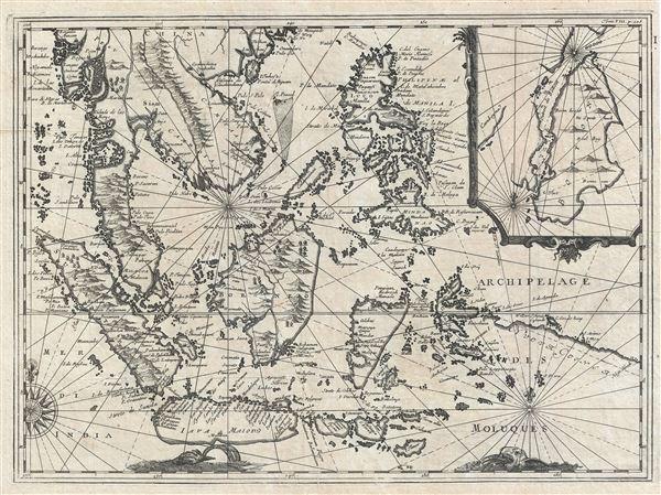 Archipelage Des Moluques.