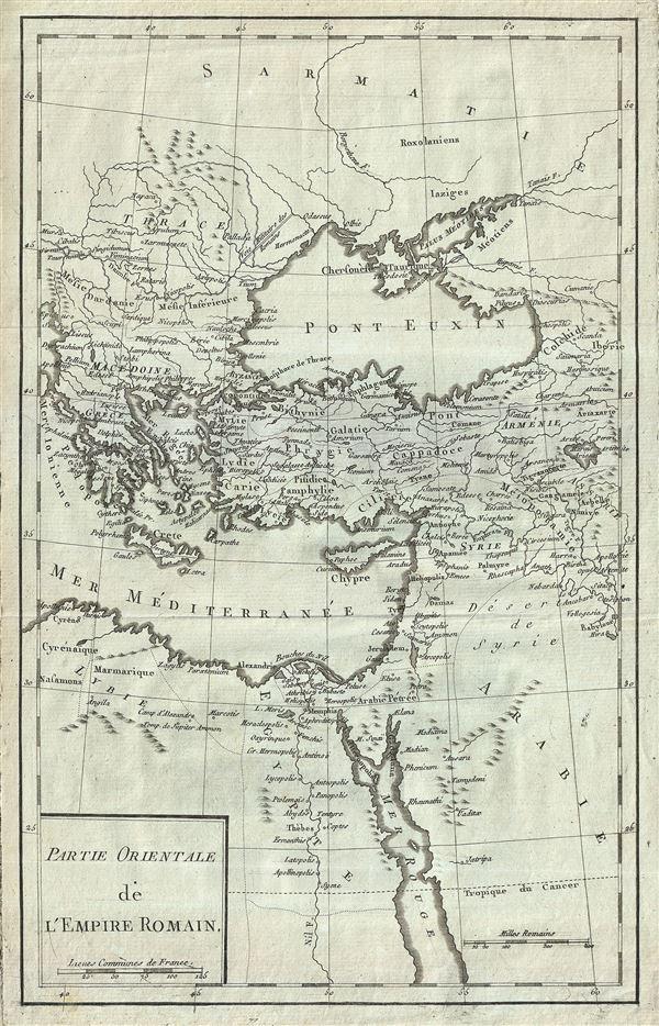Partie Orientale de l'Empire Romain. - Main View