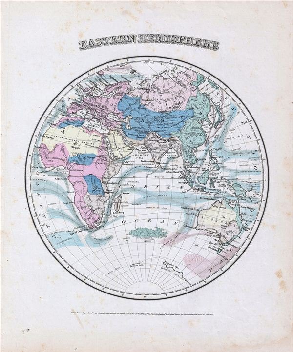 Eastern hemisphere geographicus rare antique maps eastern hemisphere gumiabroncs Images