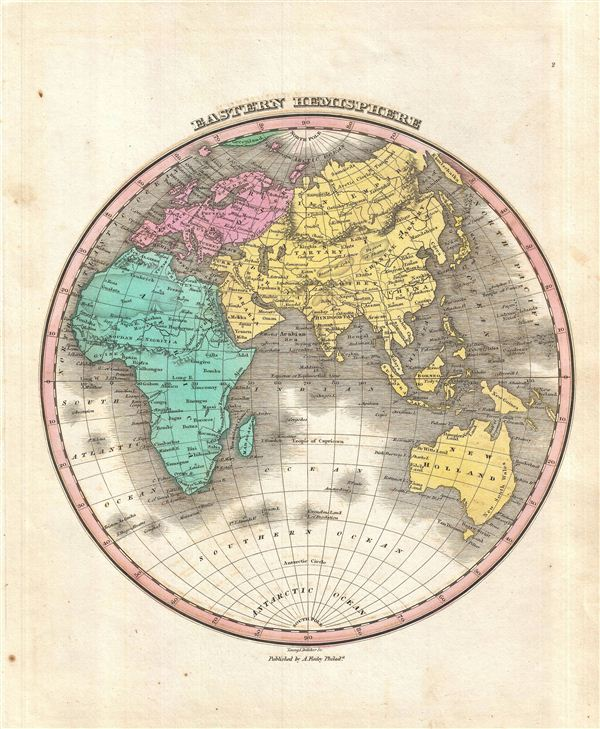Eastern Hemisphere. - Main View