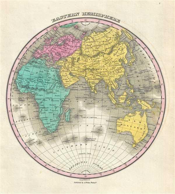Eastern Hemisphere. - Main View