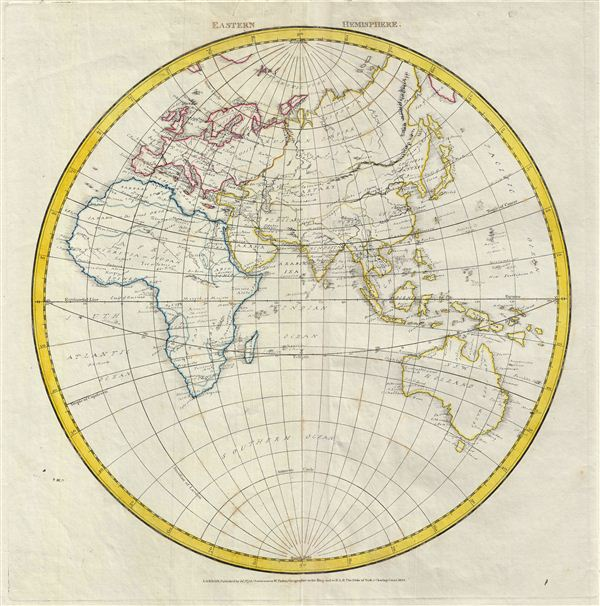 Eastern Hemisphere.: Geographicus Rare Antique Maps