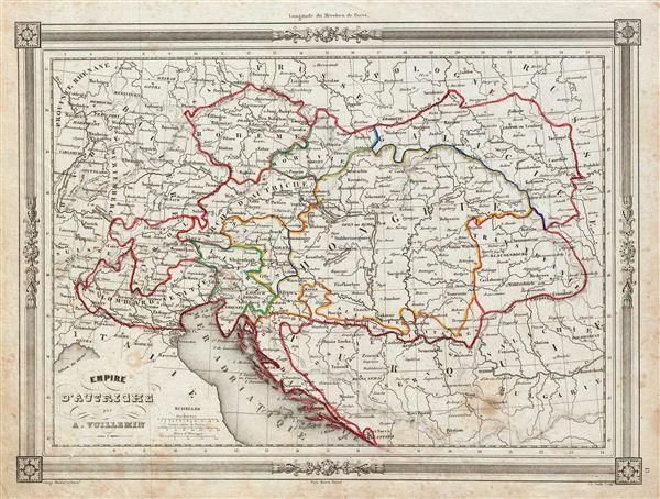 Empire d'Autriche. - Main View