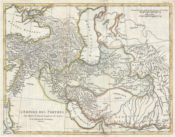 L'Empire des Parthes, pour l'Histoire des Empereurs Romains.