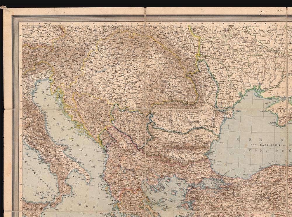 Carte Générale des Provinces Européennes et Asiatiques de l'Empire Ottoman (sans l'Arabie). - Alternate View 2