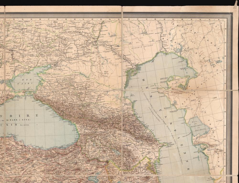 Carte Générale des Provinces Européennes et Asiatiques de l'Empire Ottoman (sans l'Arabie). - Alternate View 3