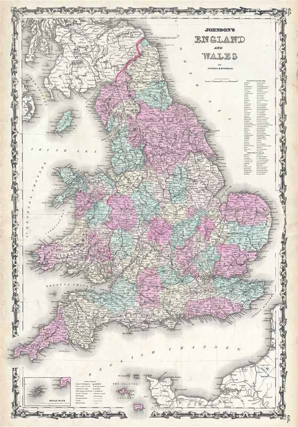 Johnson's England and Wales.