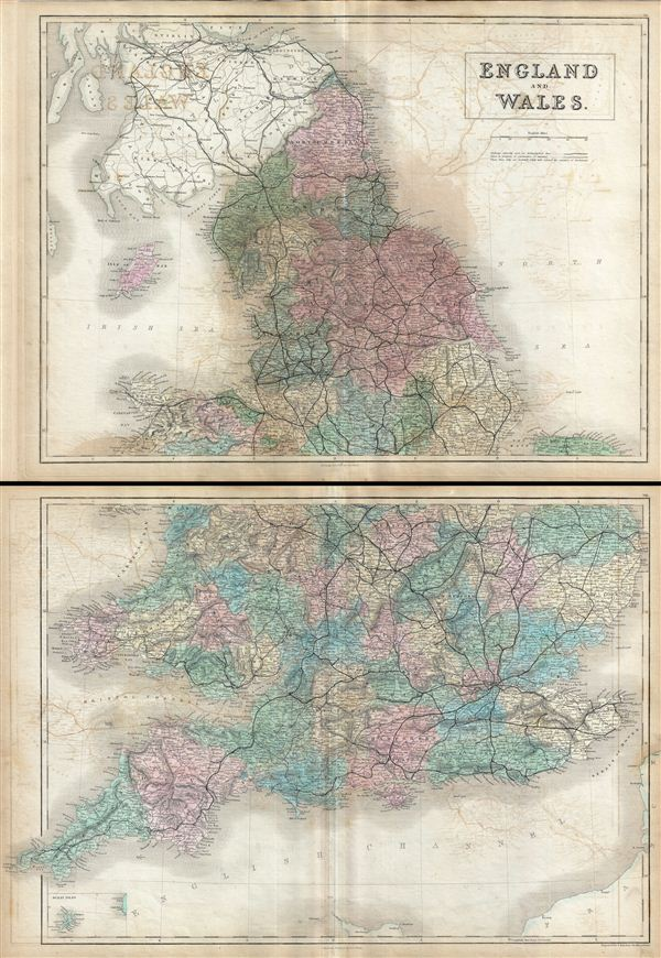 England and Wales. - Main View
