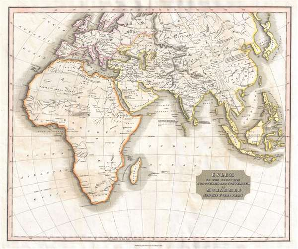 Eslem or the Countries Conquered and Converted by Muhhammed and His Followers.