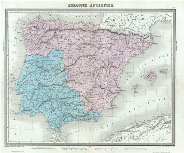 Espagne Ancienne. - Main View