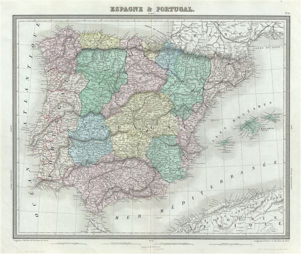 Espagne and Portugal.