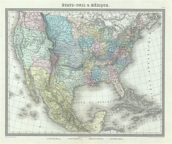 Etats-Unis et Mexique.
