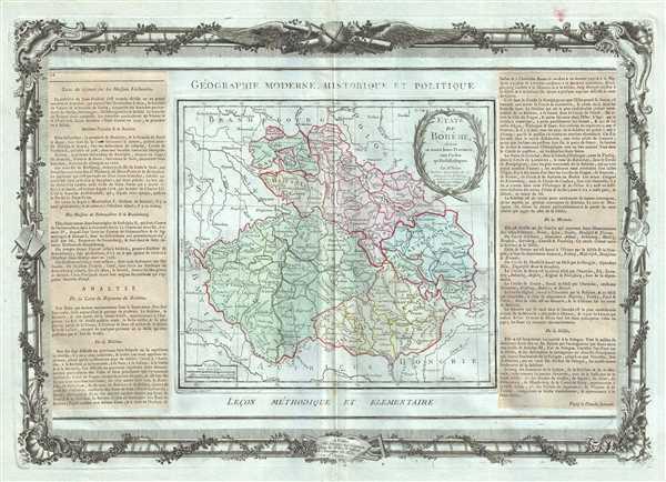Etats de Boheme, divises en toutes leurs Provinces, tant Civiles qu'Ecclesiastiques.
