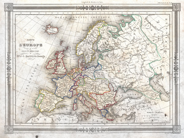 Carte de L'Europe - Main View