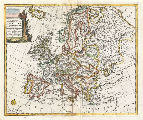 A New and Accurate Map of Europe.