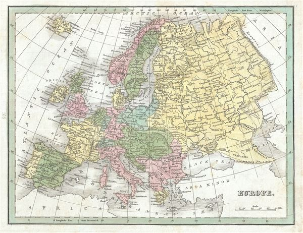 Map Of Europe For Sale.Europe Geographicus Rare Antique Maps