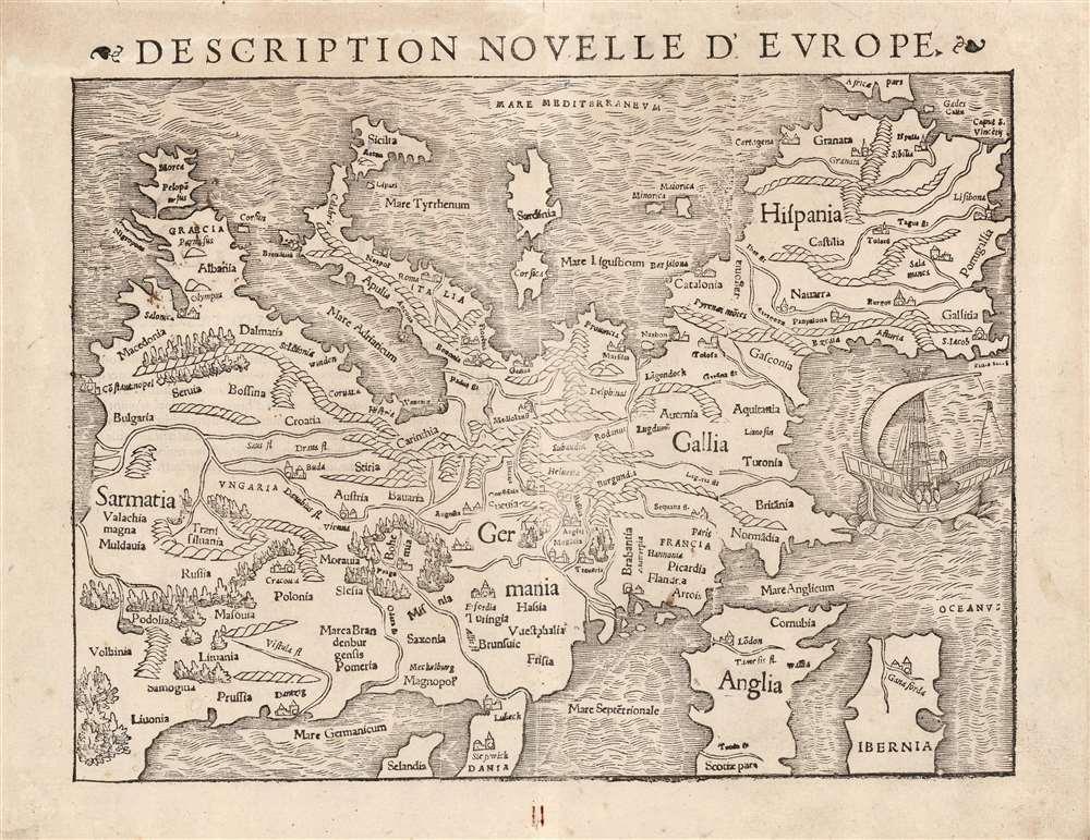 Description Novelle D'Europe. - Main View