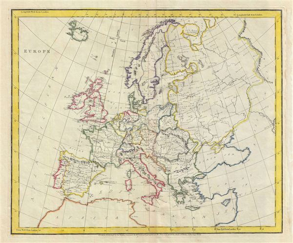 Europe Geographicus Rare Antique Maps - Map of us in 1823