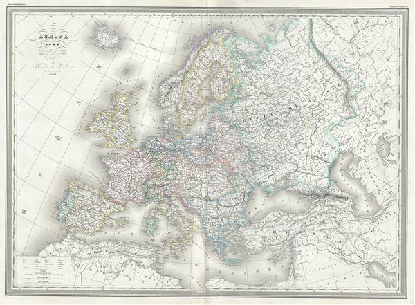 Europe en 1789. - Main View