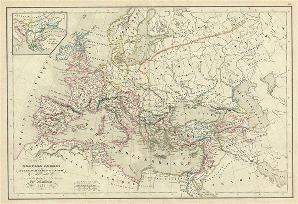 l'Empire Romain et les Barbares du Nord au IVeme. Siecle et avant la Grande Invasion. - Main View