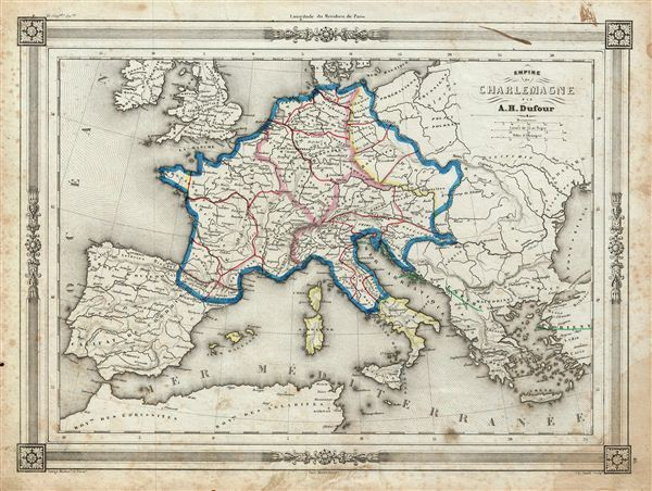 Empire de Charlemagne.