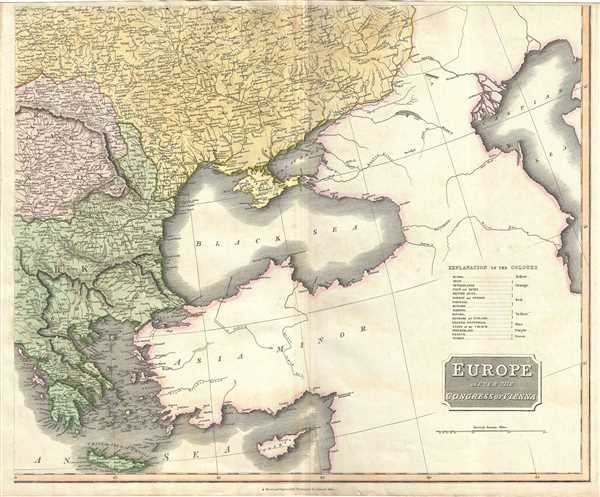 Europe after the congress of vienna geographicus rare antique maps europe after the congress of vienna sciox Choice Image