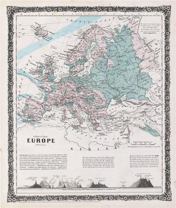 Europe (physical). - Main View