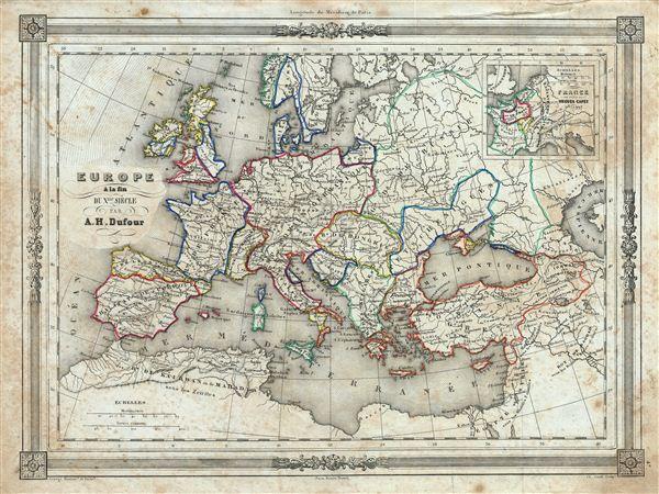 Europe a la fin du X.me Siecle.